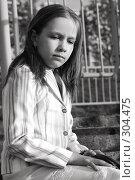 Портрет 10-летней девочки. Стоковое фото, фотограф Варвара Воронова / Фотобанк Лори