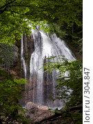 Купить «Водопад Джур-Джур (Крым, село Генеральское)», фото № 304847, снято 23 мая 2008 г. (c) Олег Титов / Фотобанк Лори