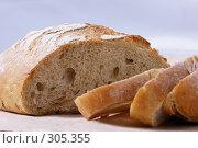 Купить «Нарезанный хлеб», фото № 305355, снято 23 ноября 2004 г. (c) Кравецкий Геннадий / Фотобанк Лори