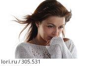 Купить «Ветер», фото № 305531, снято 31 мая 2008 г. (c) Наталья Белотелова / Фотобанк Лори