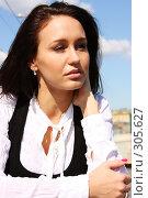 Купить «Одна в чужом городе», фото № 305627, снято 29 мая 2008 г. (c) Андрей Аркуша / Фотобанк Лори