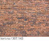 Купить «Задний фон кирпичная стена», фото № 307143, снято 25 мая 2008 г. (c) Илья Телегин / Фотобанк Лори
