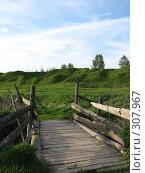 Купить «Старый мост», фото № 307967, снято 27 мая 2008 г. (c) Эдуард Кольга / Фотобанк Лори