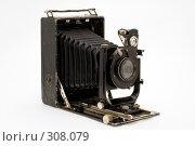 Старая классическая камера с мехом. Стоковое фото, фотограф Юрий Пономарёв / Фотобанк Лори