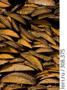 Купить «Русская поленница. Фоновое изображение.», фото № 308375, снято 18 апреля 2008 г. (c) Harry / Фотобанк Лори