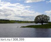 Купить «Река Ока около села Константиново. Рязанская область», фото № 308399, снято 31 мая 2008 г. (c) УНА / Фотобанк Лори