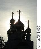 Купить «Преображенский Храм на закате дня», фото № 311035, снято 22 мая 2008 г. (c) Сова Александр / Фотобанк Лори