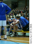 Купить «Баскетбол», фото № 311583, снято 3 мая 2004 г. (c) Морозова Татьяна / Фотобанк Лори