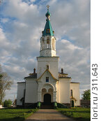 Церковь Ильи Пророка в поселке Любча (2007 год). Стоковое фото, фотограф Журавлева Виктория / Фотобанк Лори