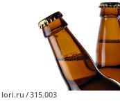 Купить «Две бутылки пива», фото № 315003, снято 20 августа 2006 г. (c) Роман Сигаев / Фотобанк Лори