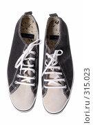 Купить «Туфли на белом фоне», фото № 315023, снято 29 мая 2007 г. (c) Илья Лиманов / Фотобанк Лори