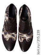 Купить «Туфли на белом фоне», фото № 315239, снято 29 мая 2007 г. (c) Илья Лиманов / Фотобанк Лори