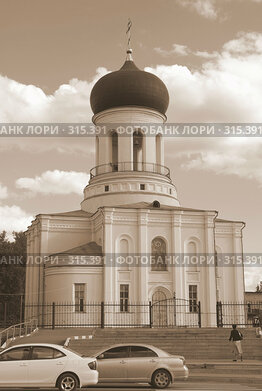 Купить «Никольский храм (осн.1852) в Наро-Фоминске», фото № 315391, снято 7 июня 2008 г. (c) ZitsArt / Фотобанк Лори