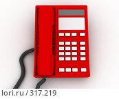 Купить «Красный телефон», фото № 317219, снято 24 июня 2019 г. (c) Фролов Андрей / Фотобанк Лори