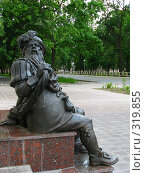 Купить «Памятник Карабасу-Барабасу возле театра кукол в Гомеле», фото № 319855, снято 11 июня 2008 г. (c) Михаил Ковалев / Фотобанк Лори