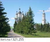 Купить «Наровчатский Троице-Сканов женский монастырь», фото № 321255, снято 7 июня 2008 г. (c) Ольга Смоленкова / Фотобанк Лори