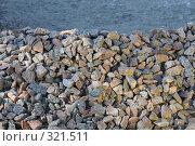 Купить «Гранитный щебень», фото № 321511, снято 4 мая 2008 г. (c) Vladimir Kolobov / Фотобанк Лори