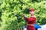 Дирижер духового оркестра в исторической форме уланского полка, эксклюзивное фото № 321775, снято 31 мая 2008 г. (c) Александр Щепин / Фотобанк Лори