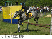 Купить «Конкур», фото № 322199, снято 12 июня 2008 г. (c) Талдыкин Юрий / Фотобанк Лори