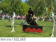 Купить «Конкур на празднике Сабантуй», фото № 322263, снято 12 июня 2008 г. (c) Талдыкин Юрий / Фотобанк Лори