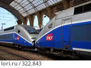 Купить «Поезд. Вокзал Ниццы. Франция», фото № 322843, снято 13 июня 2008 г. (c) Екатерина Овсянникова / Фотобанк Лори