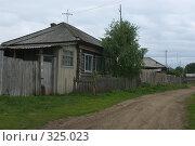 Купить «Домик в деревне», фото № 325023, снято 10 июня 2008 г. (c) Талдыкин Юрий / Фотобанк Лори