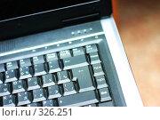 Купить «Клавиатура ноутбука», фото № 326251, снято 16 декабря 2006 г. (c) Ольга С. / Фотобанк Лори