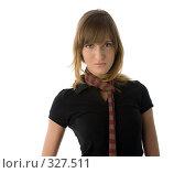 Купить «Девушка с шарфиком», фото № 327511, снято 7 июня 2006 г. (c) Алексей Попрыгин / Фотобанк Лори