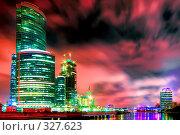 Купить «Строительство бизнес-центра», фото № 327623, снято 19 января 2020 г. (c) Михаил Лукьянов / Фотобанк Лори