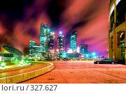 Купить «Строительство бизнес-центра», фото № 327627, снято 19 января 2020 г. (c) Михаил Лукьянов / Фотобанк Лори