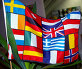 Флаг Европейского Союза, фото № 328491, снято 16 июня 2008 г. (c) RedTC / Фотобанк Лори