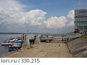 Купить «Речной вокзал. Самара», фото № 330215, снято 31 мая 2008 г. (c) Андреев Виктор / Фотобанк Лори