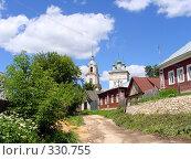 Купить «Улица на окраине города Касимова», фото № 330755, снято 19 июня 2008 г. (c) Александр Бобиков / Фотобанк Лори