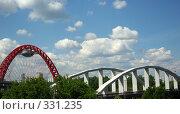Купить «Два моста, старик и молодой», фото № 331235, снято 20 июня 2008 г. (c) Дмитрий Тарасов / Фотобанк Лори