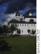 Купить «Церковь Александра Невского», фото № 338727, снято 19 августа 2018 г. (c) Сергей Иващенко / Фотобанк Лори