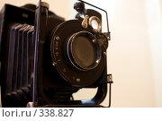 Старинный фотоаппарат. Стоковое фото, фотограф Илья Телегин / Фотобанк Лори