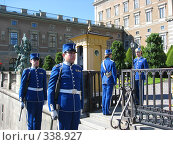 Купить «Караул у королевского дворца», фото № 338927, снято 22 июня 2008 г. (c) Софья Краевская / Фотобанк Лори