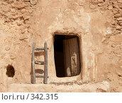 Купить «Дверь и лестница», фото № 342315, снято 14 сентября 2007 г. (c) Татьяна Колесникова / Фотобанк Лори