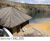 Купить «Баня у озера. Ростовская область.», фото № 342355, снято 14 июня 2008 г. (c) УНА / Фотобанк Лори