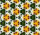 Калейдоскоп - божья коровка и муравей на цветке садовой ромашки, фото № 343867, снято 24 января 2017 г. (c) Ларина Татьяна / Фотобанк Лори