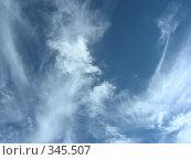 Купить «Воздушное небо», эксклюзивное фото № 345507, снято 25 июня 2008 г. (c) lana1501 / Фотобанк Лори