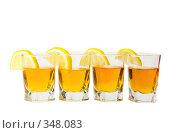 Купить «Стопка и лимон», фото № 348083, снято 23 июня 2008 г. (c) Рыбин Павел / Фотобанк Лори