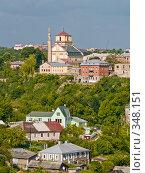 Вид на город. Каменец-Подольский/Украина, фото № 348151, снято 9 июня 2008 г. (c) Liseykina / Фотобанк Лори