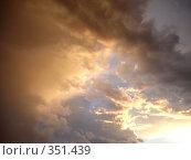 Купить «Небо Москвы», фото № 351439, снято 2 июля 2008 г. (c) Софья Ханджи / Фотобанк Лори