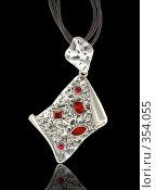 Купить «Красивое ожерелье», фото № 354055, снято 2 января 2008 г. (c) Андрей Армягов / Фотобанк Лори