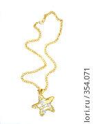 Купить «Красивое ожерелье», фото № 354071, снято 9 декабря 2007 г. (c) Андрей Армягов / Фотобанк Лори