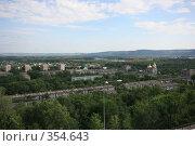 Купить «Новокузнецк, вид с крепостной горы», фото № 354643, снято 10 июля 2008 г. (c) Zemlyanski Alexei / Фотобанк Лори