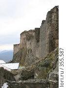 Купить «Вышеградская крепость», фото № 355587, снято 24 марта 2008 г. (c) Татьяна Заварина / Фотобанк Лори