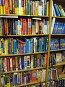 Стеллаж компьютерной литературы в книжном магазине, фото № 360231, снято 25 июня 2008 г. (c) Геннадий Соловьев / Фотобанк Лори