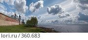 Купить «Монастырь на берегу озера», фото № 360683, снято 6 мая 2008 г. (c) Юрий Назаров / Фотобанк Лори